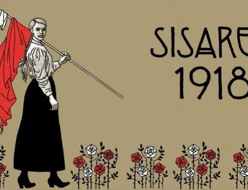Sarjakuva-Finlandia main prize awarded to Sisaret 1918, a book that´s printed in Printon printing house