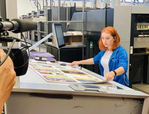 WorldSkills 2019 print technology competitor Jelizaveta Tšuvpilo´s inteview at the Printon printing house