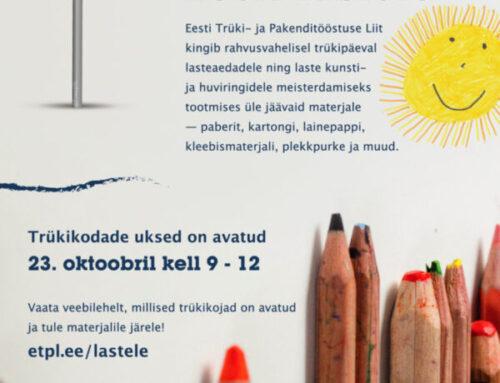 101 km paberit Eesti lastele!