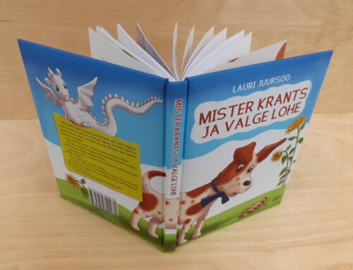 "Cheerful and instructive children's book  ""Mister Cur and the White Dragon."""