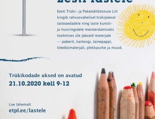 102 km paberit Eesti lastele!
