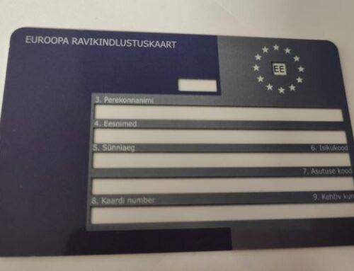 Euroopa ravikindlustuskaartide riigihanke 2-aastane leping