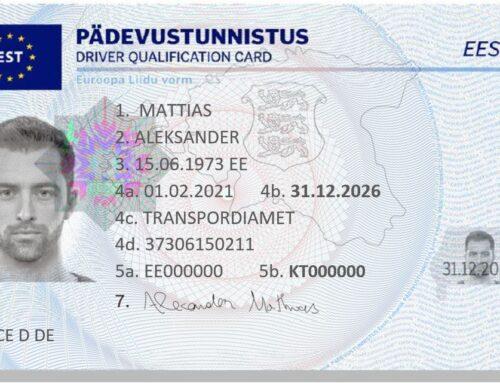 Alates 05.02.2021 valmistab ja tarnib Transpordiametile pädevustunnistusi ja ADR tunnistusi (ohtlikku veost vedava autojuhi tunnistus) Vaba Maa AS koostöös Soome ettevõttega CardPlus Group Oy.