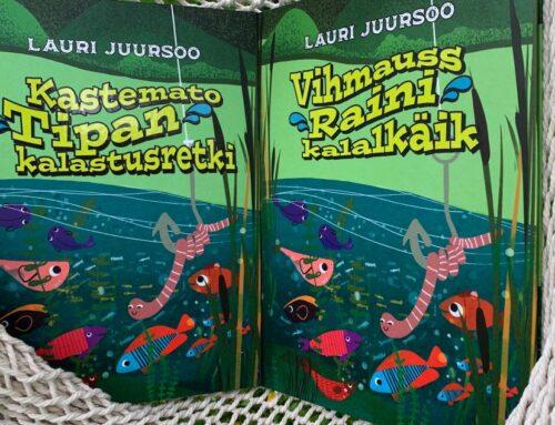 """Seikluslik põnevuslugu """"Vihmauss Raini kalalkäik"""""""